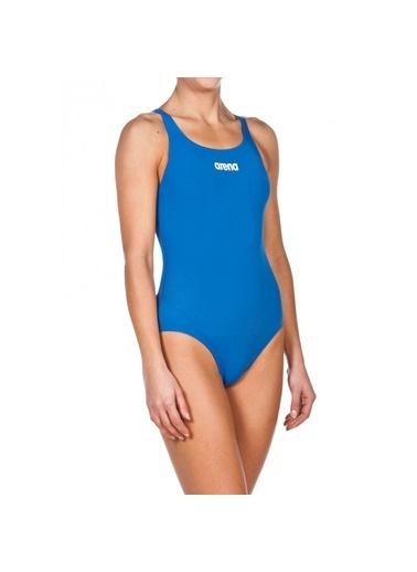 Arena Solid Swim Pro Kadın Mavi Mayo 2A24272 Mavi